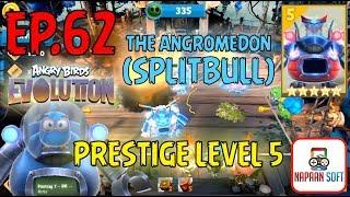 ANGRY BIRDS EVOLUTION - THE ANGROMEDON (SPLITBULL) - LEVEL UP TO 10...