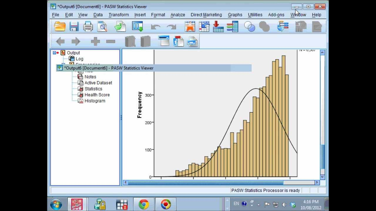 Spss histogram with normal curve easy tutorial by statisticalgp spss histogram with normal curve easy tutorial by statisticalgp ccuart Gallery