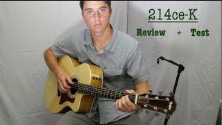 Taylor 214ce-K (Koa): Review + Test
