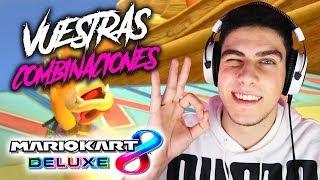 PROBANDO VUESTRAS MEJORES COMBINACIONES DE MARIO KART 8 DELUXE EN DIRECTO | Nintendo Switch