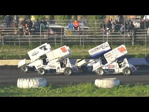 360 Sprints HEAT TWO 4-20-19 - Petaluma Speedway