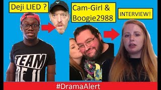 Deji LIED about Jake Paul 's Dad? #DramaAlert Boogie2988 EXPOSED by X Girlfriend? (INTERVIEW)