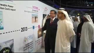 """عبدالله بن زايد يفتتح المقر الدائم للوكالة الدولية للطاقة المتجددة """"آيرينا"""" في مدينة مصدر."""