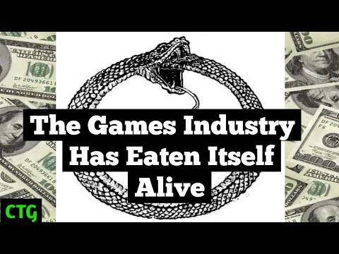 Is the Gaming Crash Upon Us?     How Games as a Service Has Destroyed Itself