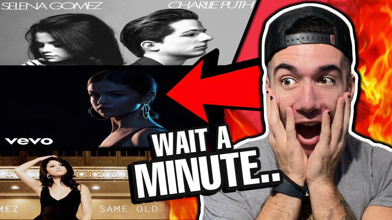 Rapper Reacts to Selena Gomez (Same Old Love, We Don't Talk Anymore, It Ain't Me)
