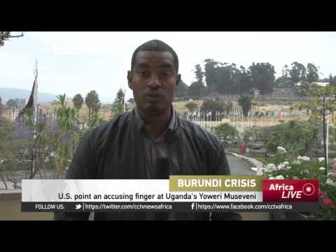U.S. calls for AU to step in and stabilize Burundi (LIVE)