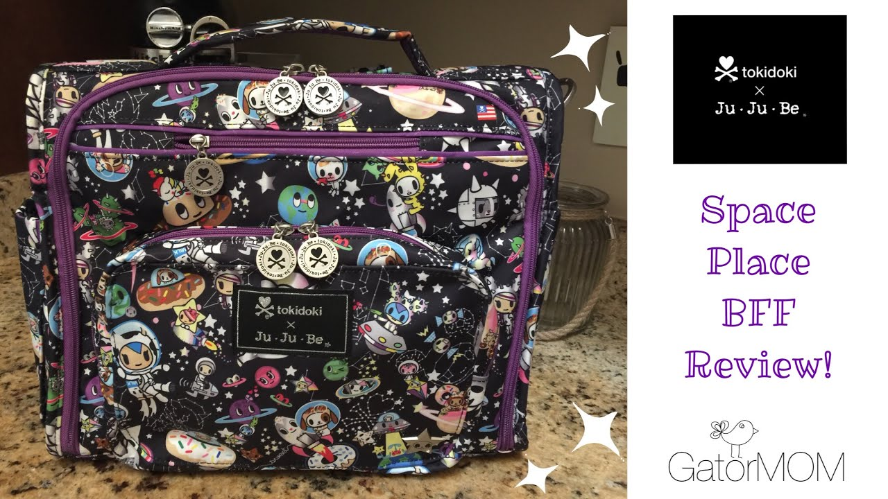 Ju ju be x tokidoki space place bff review packing for Space v place