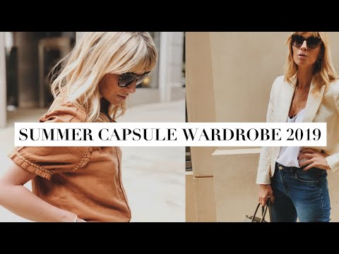 Summer Capsule Wardrobe 2019 | Key Trends & How To Style Them