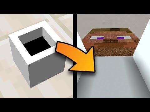 Minecraft: Trapped Inside A Tiny Box