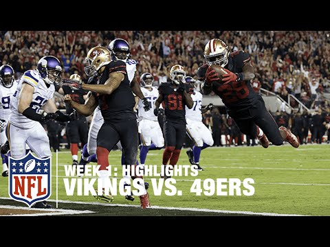 Vikings vs. 49ers | Week 1 Highlights | NFL