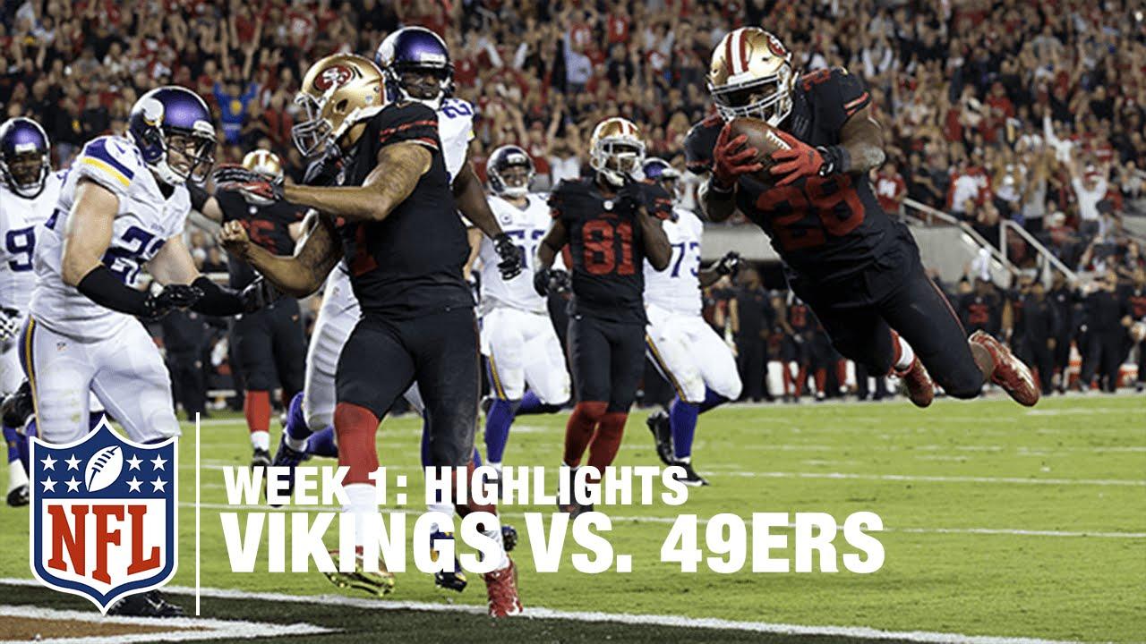 Vikings vs. 49ers | Week 1 Highlights | NFL - YouTube