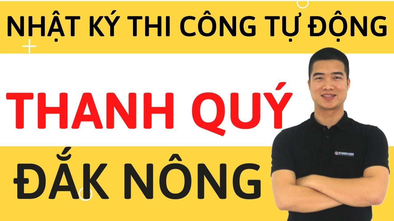 Hỗ trợ nhật ký thi công tự động làm hồ sơ hoàn công – Anh Thanh Quý, Đắk Nông.