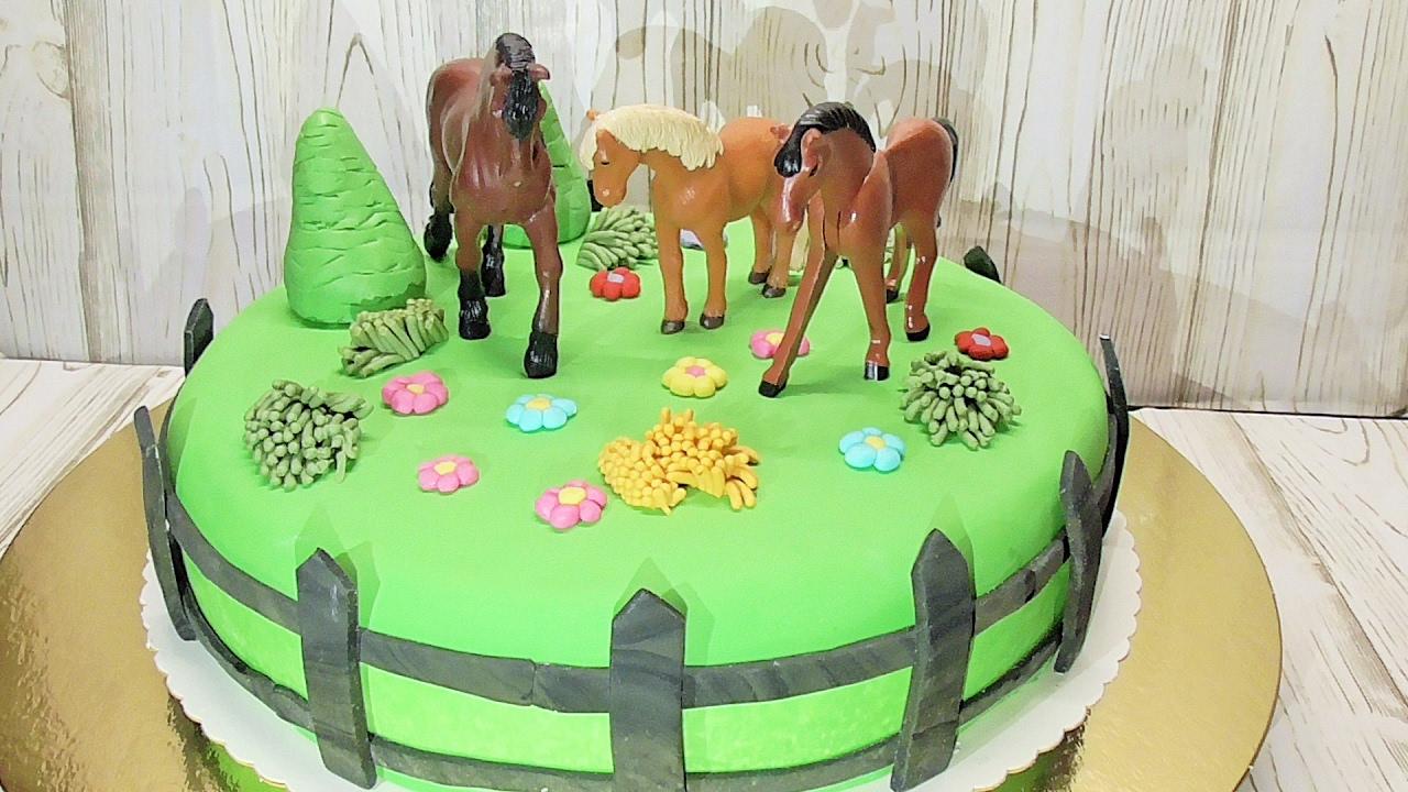 Tort z koniami czekoladowy tort Kasia ze slaska gotuje
