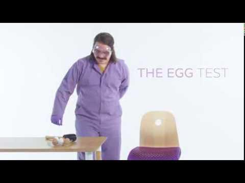 the royal purple seat cushion raw egg test youtube