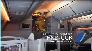 FRP S2E12 - All Nippon Airways NH855 Dreamlining in Business Class | Tokyo HND - Jakarta CGK