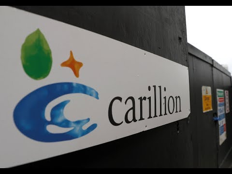 Job loss fears after collapse of Britain's Carillion