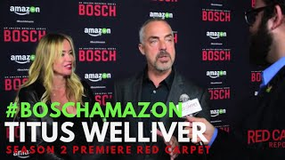 "Titus Welliver at the ""Bosch"" Season 2 Premiere from Amazon #BoschAmazon"