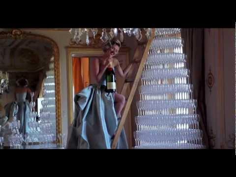 Panache Mode's FILM NOIR - Scarlett Johansson for Moët & Chandon