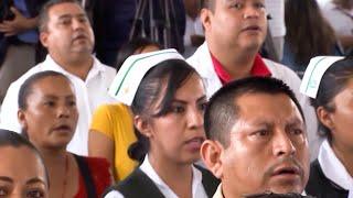 Diálogo con la comunidad del Hospital Rural Chicontepec, desde Veracruz