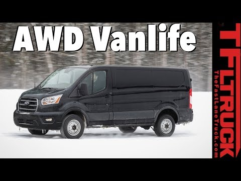 New  Ford Transit Van is Here with a Ranger Raptor Turbo Diesel and AWD Versions