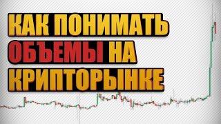 Как Интерпретировать Объемы на Рынке Криптовалют/ Биткоин/ Торговля на Бирже.