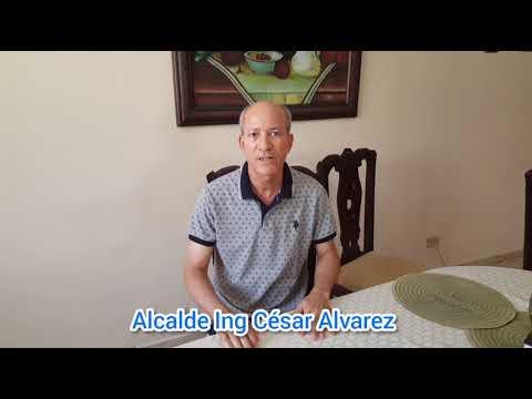 Alcalde Ing. César Álvarez, Aclara Su Posición Sobre Listado Aparece Hospital De Villa González...