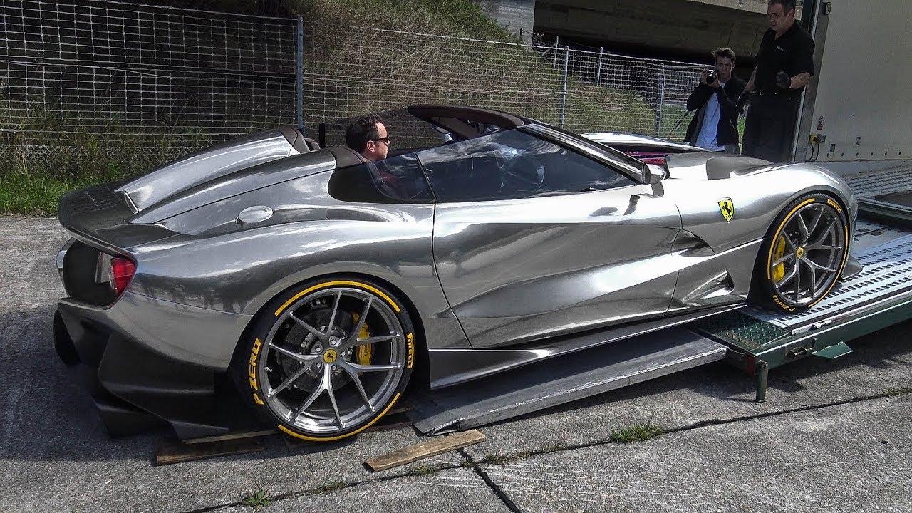 $4.5M Ferrari F12 TRS (1 of 2) , Start up \u0026 GREAT V12 SOUND!