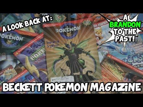 A Look Back At Beckett Pokemon Magazine