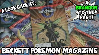 A Look Back At Beckett Pokemon Magazine