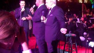 Kevin Michael Richardson sings with Seth MacFarlane and Frank Sinatra Jr