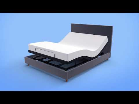 Split King Adjustable Bed Base With Wireless Remote Head And Foot