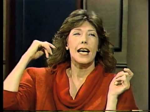 Lily Tomlin on Late Night, September 10, 1984