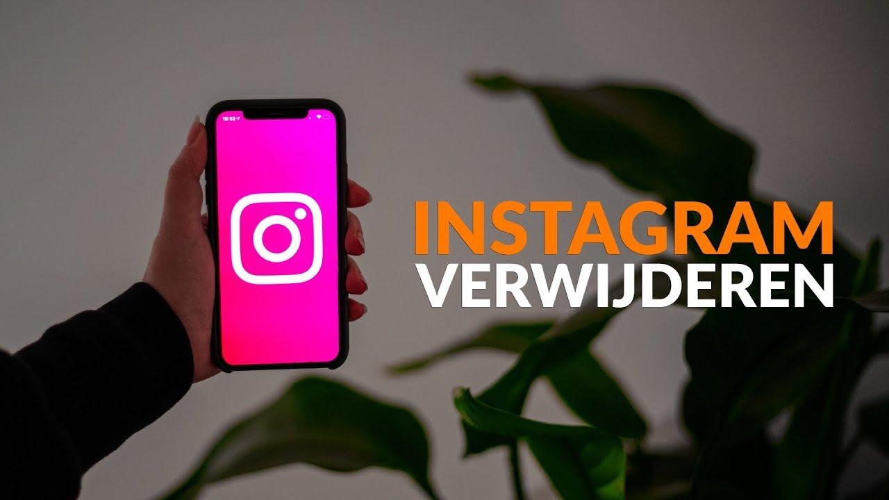 Instagram verwijderen: in 3 stappen je profiel wissen doe je zo