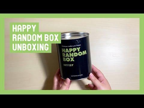 Unboxing ☆ NCT 127 엔시티 Happy Random Box