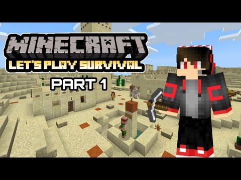 Download Minecraft Lets Play Series Part 1 Malayalam : I Found A Desert Village