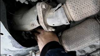 Замена масла в раздатке и заднем редукторе на Ниссан Мурано Z51 2010 года Nissan Murano