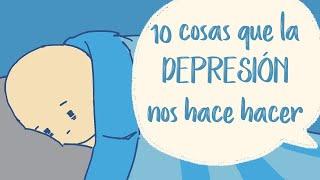 10 Cosas que la Depresión nos hace Hacer   Psych2Go ESPAÑOL