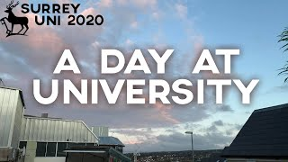 a day in the life at surrey university.