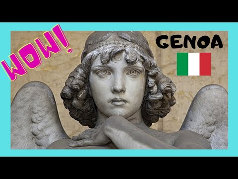 GENOA, meaning of the statues & monuments, CIMITERO MONUMENTALE (ITALY)