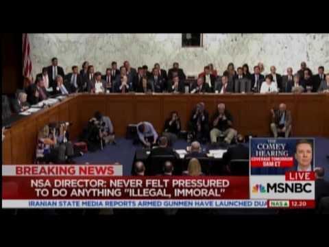 Senate Intel Chair Cuts Off Kamala Harris In Tense Exchange