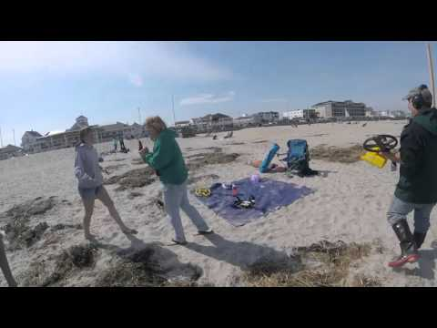 Hampton Beach NH Metal Detecting,  Ring Recovery!  XP DEUS