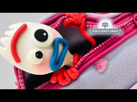 Toy Story 4 Forky birthday cake tutorial