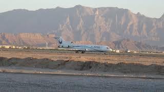 イランアーセマーン航空 ボーイング727-200 ヤズド離陸 2018年6月