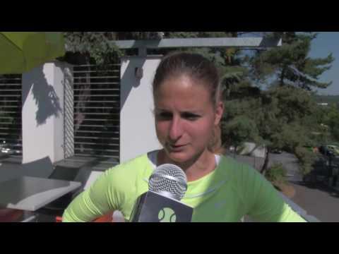 Kateřina Vaňková po skreči ve 2. kole Livesport Prague Open 2016
