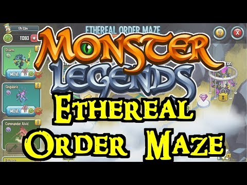 Monster Legends - Ethereal Order Maze
