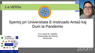 Spertoj pri universitata eo instruado en Venezuelo antaŭ kaj dum la pandemio