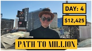 Bollinger Bands - Path to $1,000,000 Day 4 - $12,000 - Binary Options Strategy