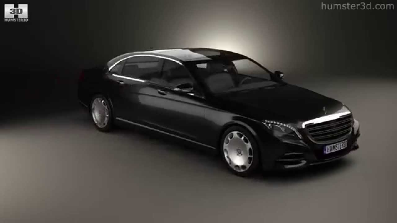 Mercedes-Benz S-class (W222) Maybach 2016 by 3D model store ...