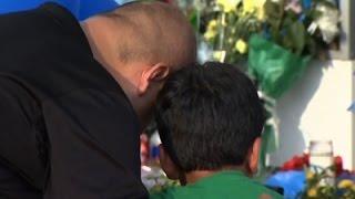 Raw: Tears, Prayers At Vigil For Slain TX Deputy