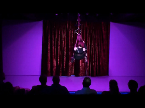 A Rope Story - self suspension performance - Adelaide Fringe Festival March 2017